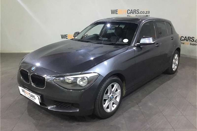 2015 BMW 1 Series 118i 5 door auto