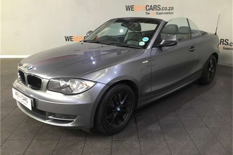 2010 BMW 1 Series 120i convertible steptronic