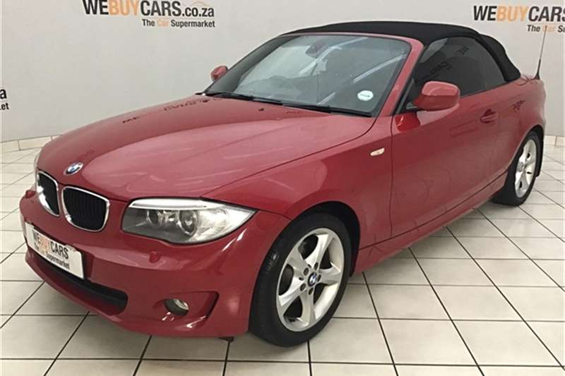 2011 BMW 1 Series 120i convertible steptronic