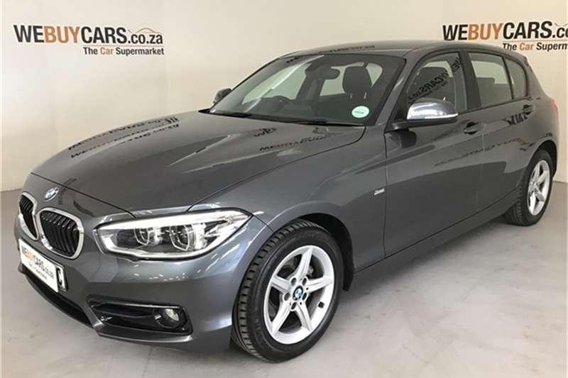 2016 BMW 1 Series 118i 5 door auto