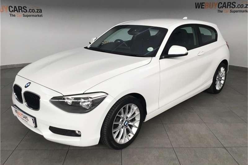 2012 BMW 1 Series 116i 3 door