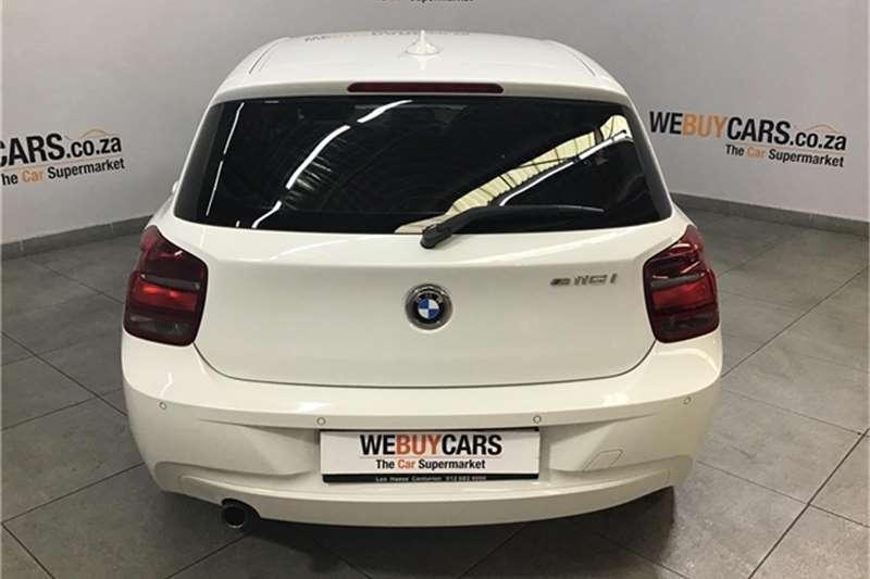 2014 BMW 1 Series 116i 5 door auto