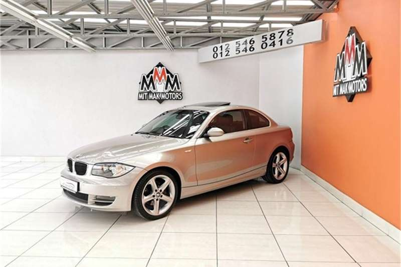 2008 BMW 1 Series 125i coupé