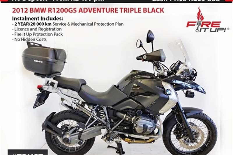 BMW 1200GS Triple Black 2012