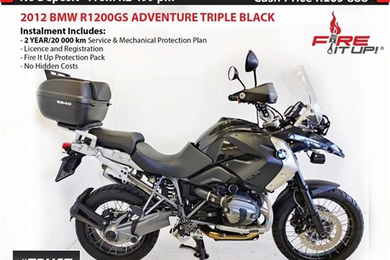 BMW 1200GS Triple Black 2012