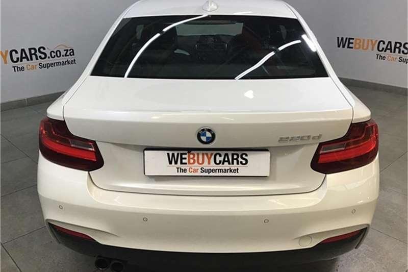 BMW 2 Series 220d coupe M Sport auto 2016