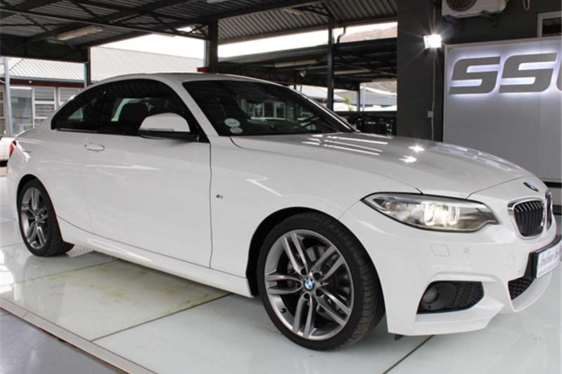 Used 2016 BMW 2 Series 220d coupe M Sport auto