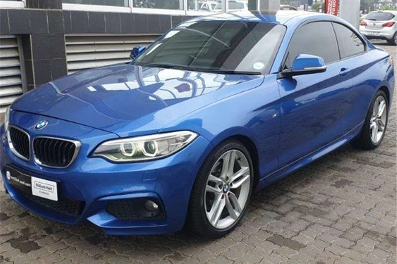 BMW 2 Series 220d coupe M Sport auto 2018