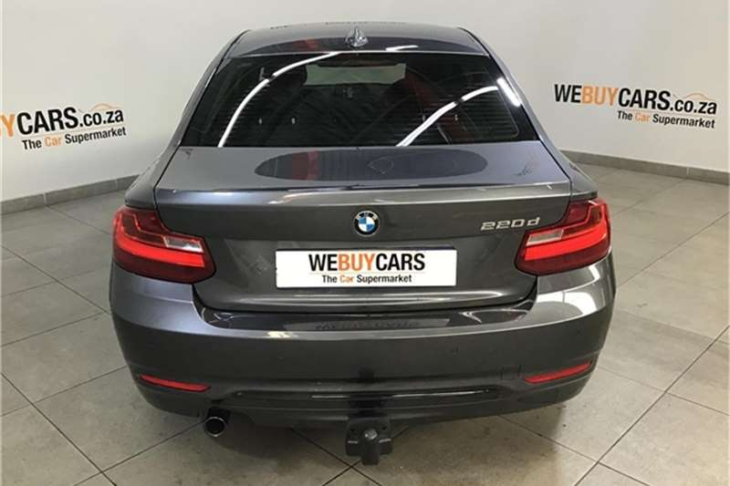 BMW 2 Series 220d coupe Sport 2014
