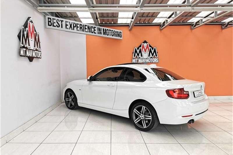2015 BMW 2 Series 220d coupe Sport auto