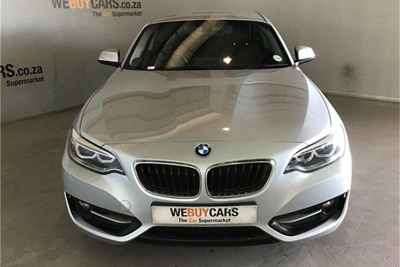 BMW 2 Series 220d coupe Sport auto 2016