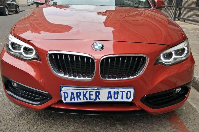 BMW 2 Series 220i convertible Luxury 2018