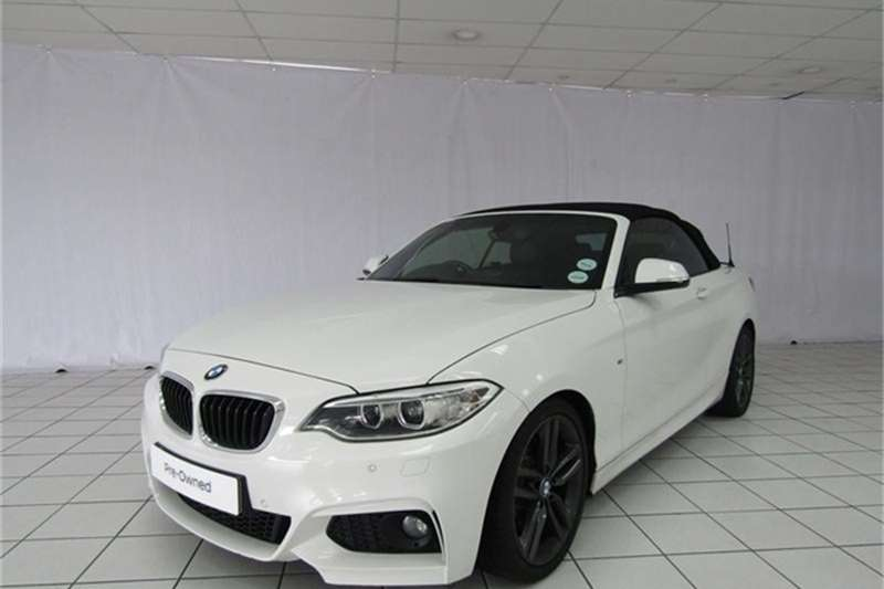 BMW 2 Series 220i convertible M Sport 2016