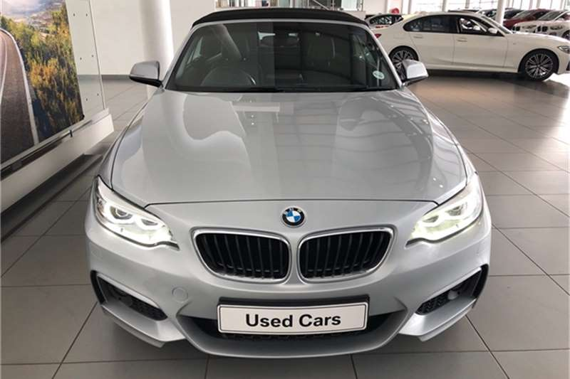 BMW 2 Series 220i convertible M Sport auto 2015