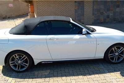 2015 BMW 2 Series 220i convertible M Sport auto
