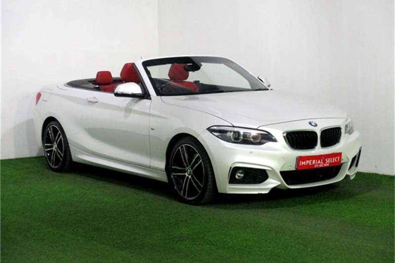 BMW 2 Series 220i convertible M Sport auto 2017