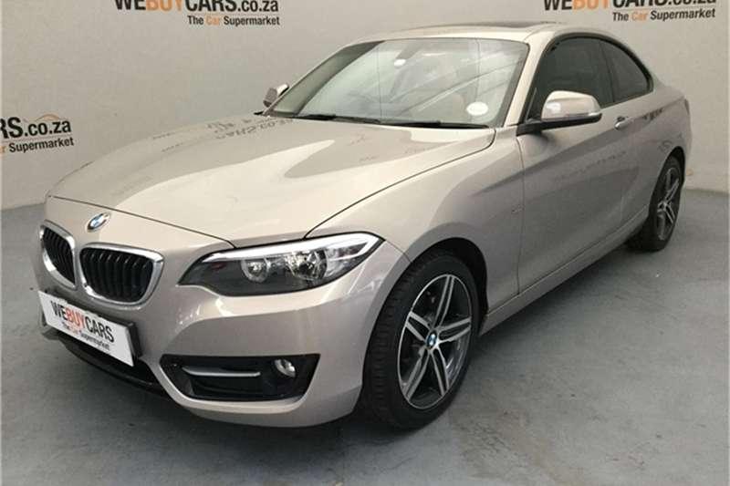 BMW 2 Series 220i coupe Luxury 2016
