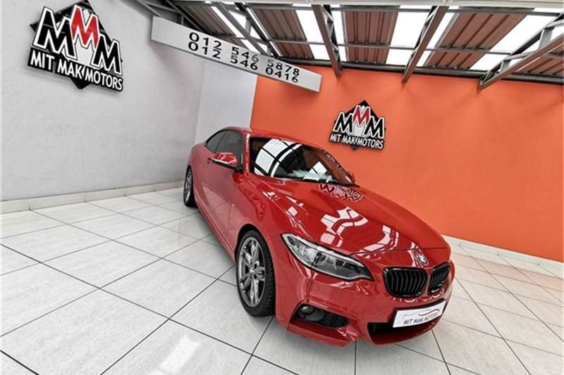 BMW 2 Series 220i coupe M Sport 2014