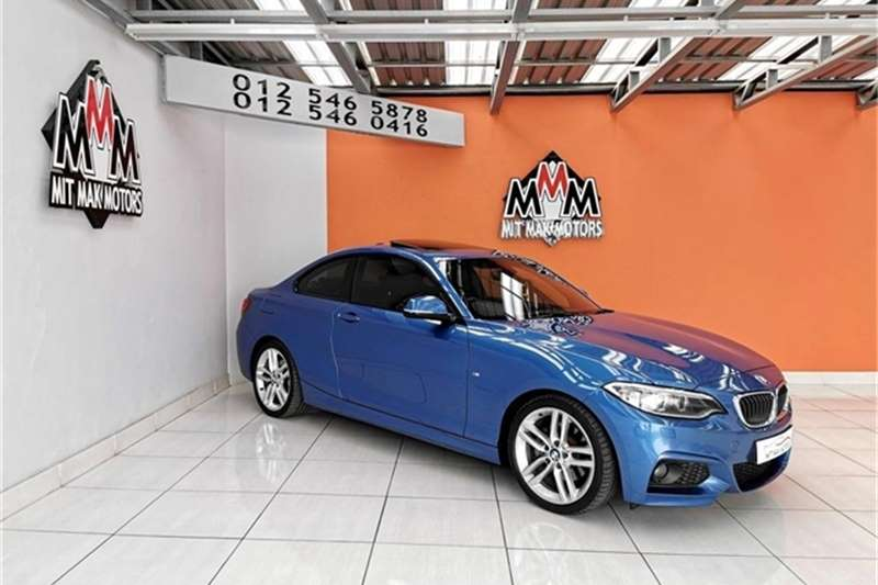 BMW 2 Series 220i coupe M Sport auto 2014