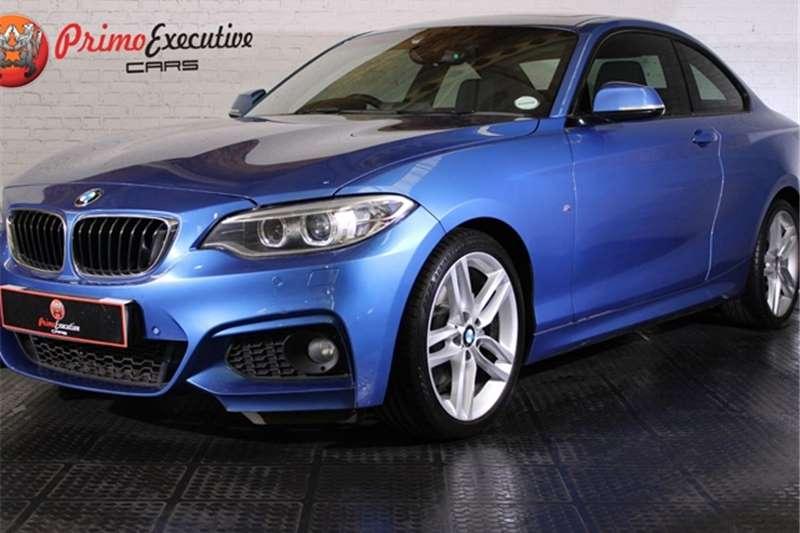 BMW 2 Series 220i coupe M Sport auto 2015