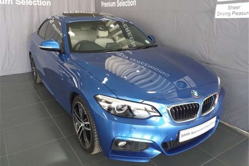 BMW 2 Series 220i coupe M Sport auto 2019