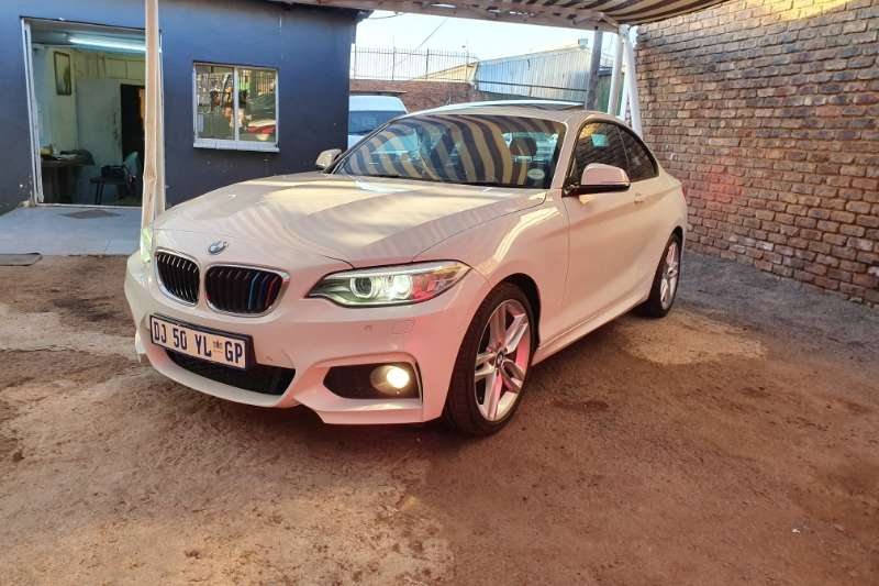 BMW 2 Series 220i coupe M Sport sports auto 2014