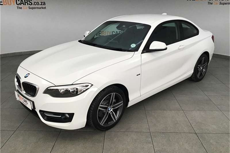 BMW 2 Series 220i coupe Sport 2015