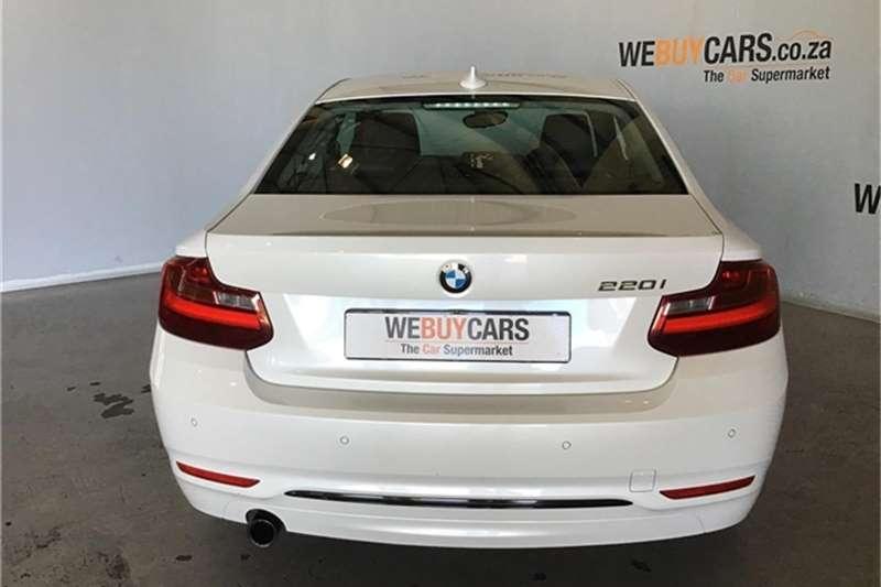 BMW 2 Series 220i coupe Sport auto 2014
