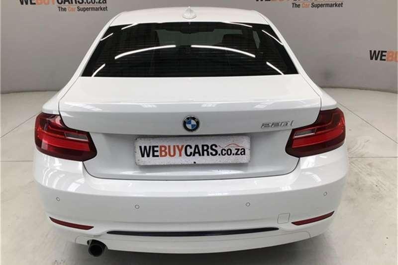 BMW 2 Series 220i coupe Sport auto 2015