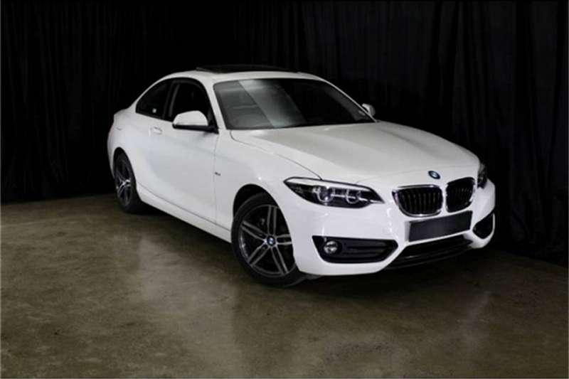 BMW 2 Series 220i coupe Sport auto 2018