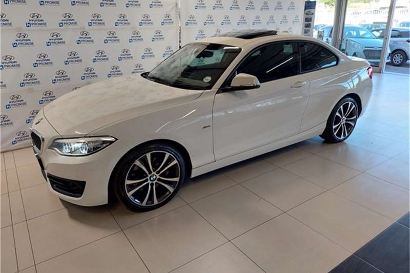 2018 BMW 2 Series 220i coupe Sport Line sports-auto