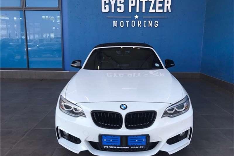 BMW 2 Series 228i convertible M Sport auto 2015