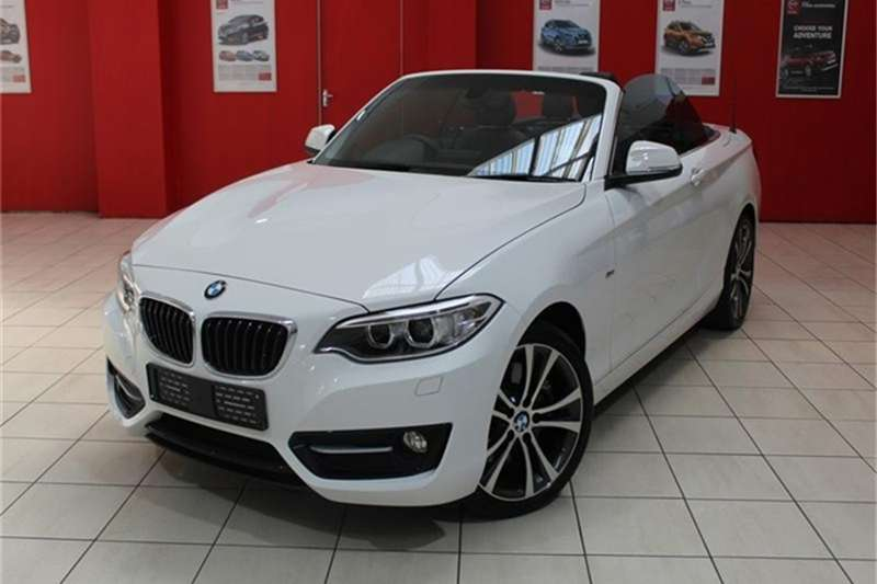 BMW 2 Series 228i convertible Sport auto 2016