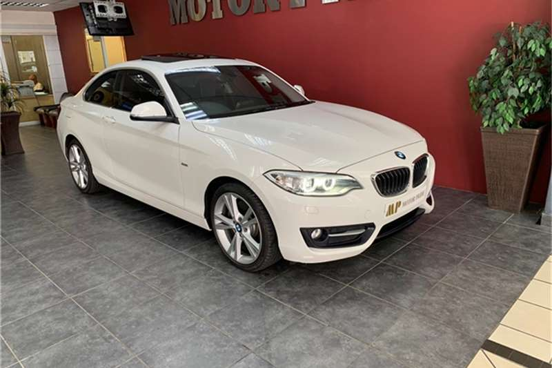 BMW 2 Series 228i Coupe Sport Auto 2015