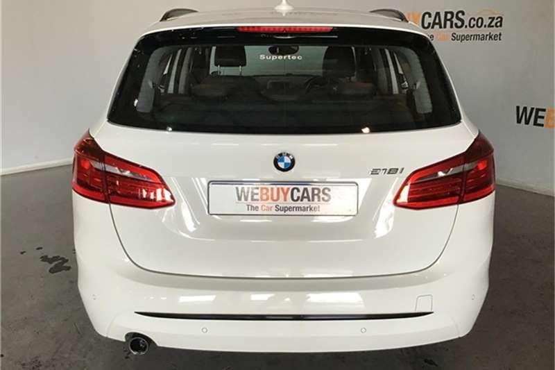 2015 BMW 2 Series Active Tourer 218i Active Tourer Sport auto