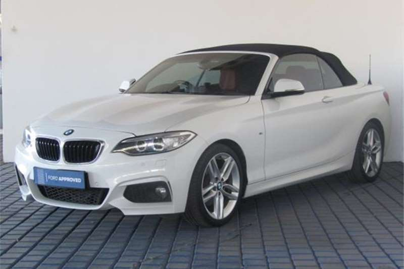 BMW 2 Series Convertible 220i CONVERT M SPORT A/T (F23) 2017