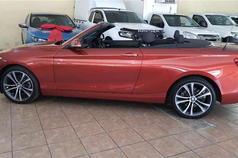 BMW 2 Series Convertible 220i CONVERT M SPORT A/T (F23) 2018