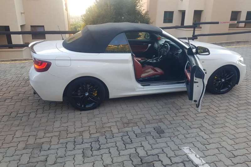 BMW 2 Series Convertible 220i CONVERT SPORT LINE A/T (F23) 2016