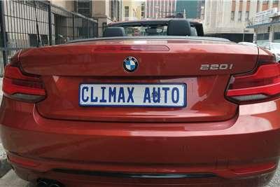 BMW 2 Series Convertible 220i CONVERT SPORT LINE A/T (F23) 2018