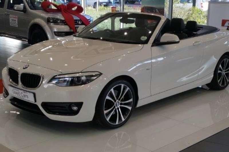 2018 BMW 2 Series convertible 220i CONVERT SPORT LINE A/T (F23)