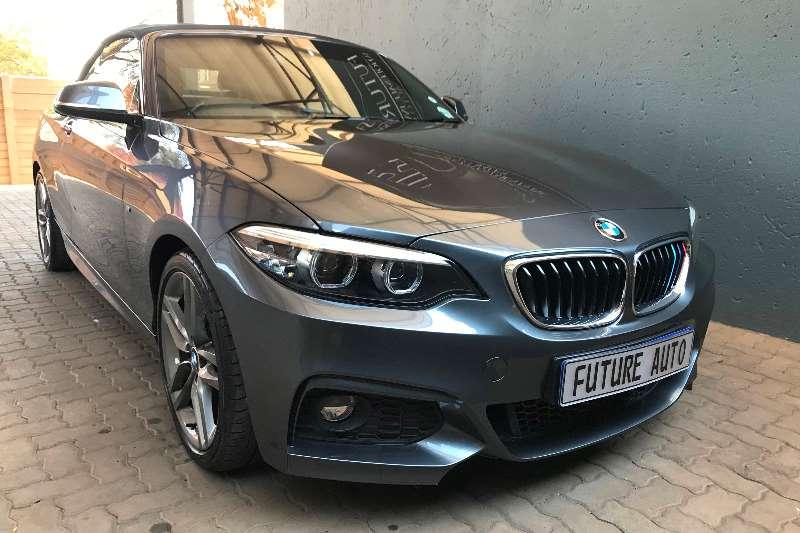 2017 BMW 2 Series convertible 220i CONVERT M SPORT A/T (F23)