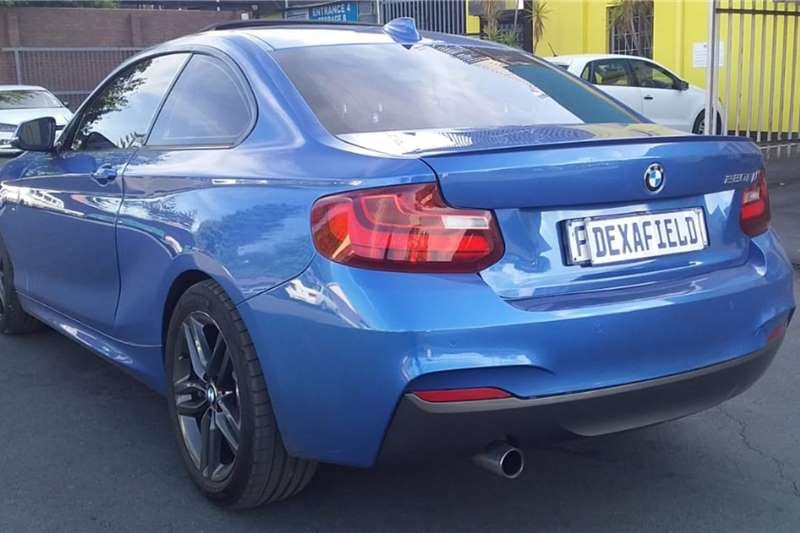 Used 2016 BMW 2 Series Coupe 220i M SPORT A/T(F22)