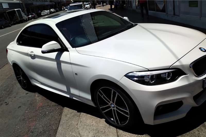 BMW 2 Series Coupe 220i M SPORT A/T(F22) 2018