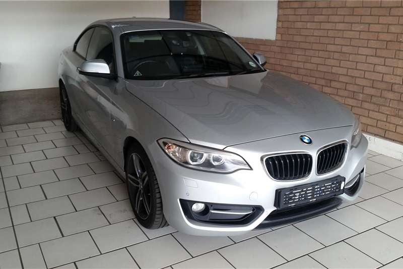 BMW 2 Series Coupe 220i SPORT LINE A/T(F22) 2014