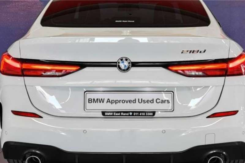 Used 2021 BMW 2 Series Gran Coupe 218d GRAN COUPE M SPORT A/T (F44)