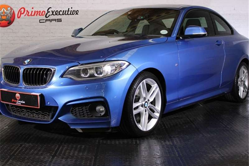 2015 BMW 2 Series 220i coupe Luxury