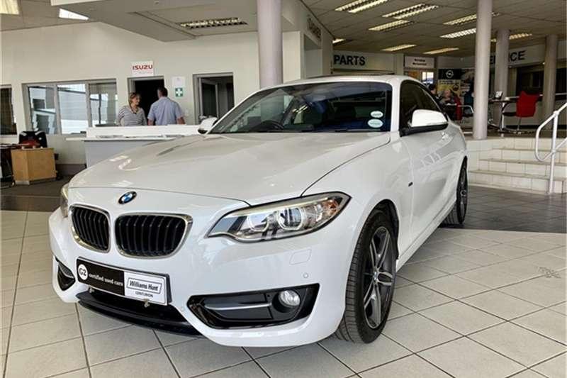 2014 BMW 2 Series 220i coupe Sport auto