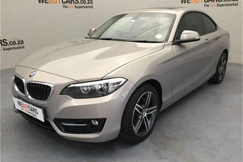 2016 BMW 2 Series 220i coupe Luxury
