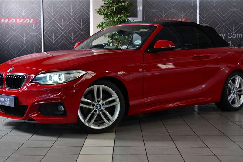 2015 BMW 2 Series 228i convertible M Sport auto