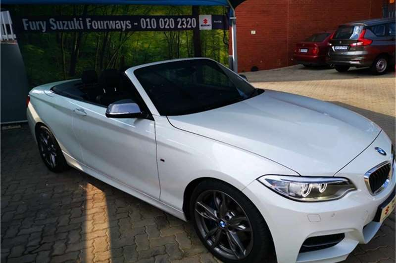 2017 BMW 2 Series M240i convertible auto